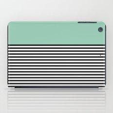 STRIPE COLORBLOCK {MUTED JADE} iPad Case