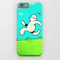 iPhone & iPod Case featuring Running... by MaComiX