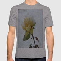 Rose in the Snow Mens Fitted Tee Athletic Grey SMALL