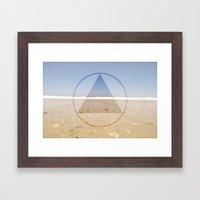 Beachside Framed Art Print