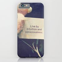 Live by Intuition and Consciousness iPhone 6 Slim Case