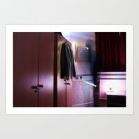 Ghost Person  Art Print