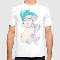 Familiar Places Mens Fitted Tee White SMALL