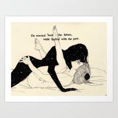 Alright,Alright (LOVE SERIES) Art Print