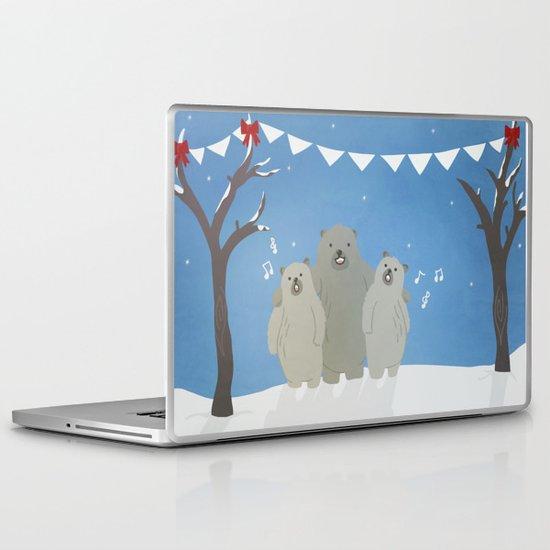 Winter Bears Laptop & iPad Skin