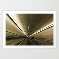 The Tunnel Art Print