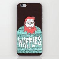 Mister Waffles iPhone & iPod Skin