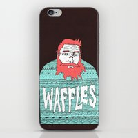 Mister Waffles iPhone & iPod Skin