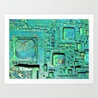 Tech Wall Art Print