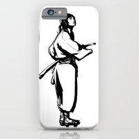 iPhone & iPod Case featuring Samurai by Pedro Alves