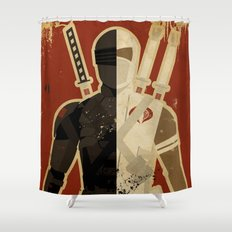 Blood Brothers Shower Curtain