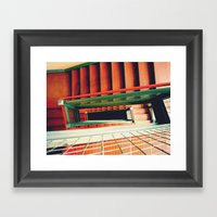 crease Framed Art Print