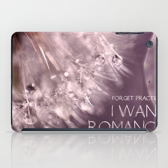 Forget practical. I want ROMANCE.  iPad Case