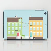 Little Houses iPad Case