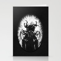 House in R'lyeh, Interior Stationery Cards