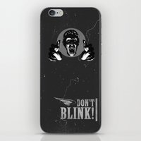 Doctor Who: Weeping Ange… iPhone & iPod Skin