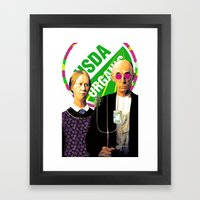 Cash Crop Pop Framed Art Print