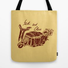 Fast And Class Tote Bag