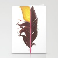 Feather #7 Stationery Cards