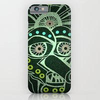 iPhone & iPod Case featuring Weirdo Mask by Adam Metzner