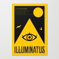 Illuminatus Canvas Print