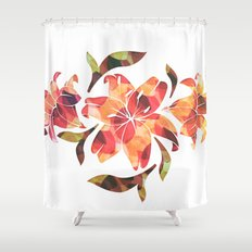 Lilium 02 Shower Curtain