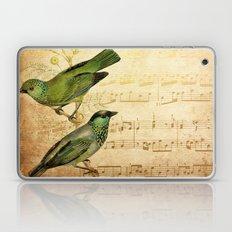 Vintage gold Music #6 Laptop & iPad Skin