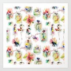 Aromas of Paris Art Print