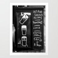 Liquid Lunch Art Print