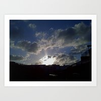 What A Great Day! Art Print