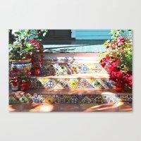 Colorful Steps Canvas Print