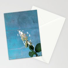 White Hydrangea Stationery Cards