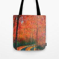 Beautiful Colors Of Autu… Tote Bag