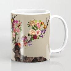 Spring Itself Deer Flower Floral Tshirt Floral Print Gift Mug