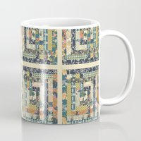 Art Deco Patchwork Mug