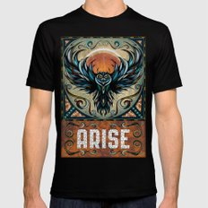 Arise SMALL Black Mens Fitted Tee