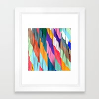 Timeless Texture Framed Art Print