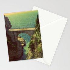 Bridge in Amalfi Coast, Italy Stationery Cards
