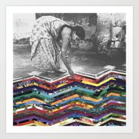 Layers of Our Past Art Print