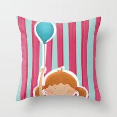 Balloon Throw Pillow