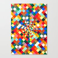Colorful Nite Canvas Print