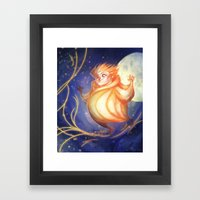 Yellow Dreams - Sandy Framed Art Print