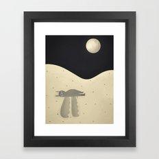 regrets.  Framed Art Print