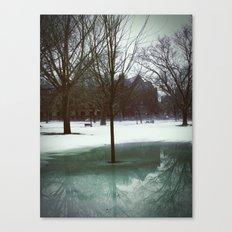 Bare Reflection Canvas Print