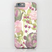 Autumn Bouquet - Kale & Rose iPhone 6 Slim Case