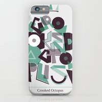 Crooked Typography iPhone 6 Slim Case