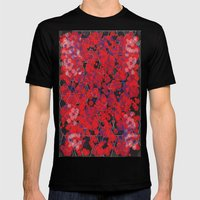 Dissemination / Pattern #4 Mens Fitted Tee Black SMALL