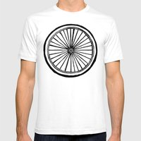 Ride Mens Fitted Tee White SMALL