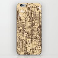 San Francisco! (Dusty) iPhone & iPod Skin