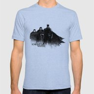 The Knight's Watch Mens Fitted Tee Tri-Blue SMALL